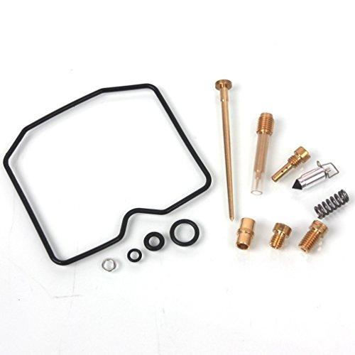 Oxoxo Carburateur/Rebulid kit de réparation pour 1989–2004 Kawasaki Klf300 C Bayou 300 Compatible 15003–1075 15001–1659 15001–1432