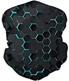 Loveternal Bienenwabe Multifunktionstuch Honeycomb Kopftuch Nahtloses Halstuch...