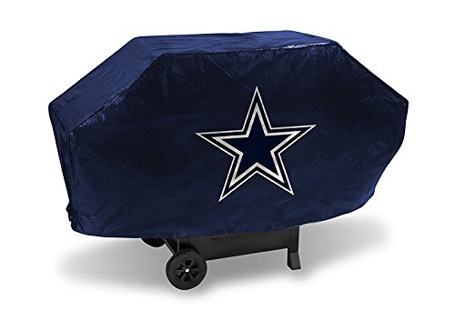 NFL Rico Industries Vinyl Padded Deluxe Grill Cover, Dallas Cowboys,Team Color,68 x 21 x 35-inches
