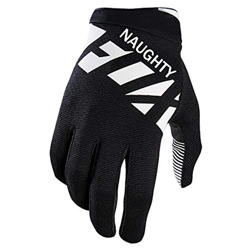 IAMZHL Handschuhe MTB BMX Fahrrad Mountainbike Motocross Sport Bike Handschuhe-Black-S