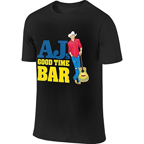 Eigenlijk thuis Alan Jackson mannen korte mouw T-Shirt Athletic casual T-shirt shirts voor mannen stijlvolle T shirt
