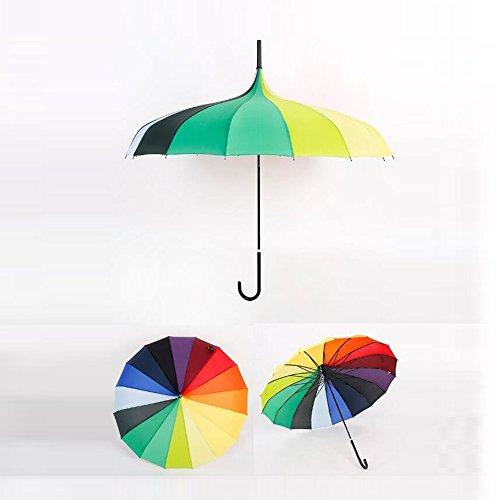 bpblgf H Professionnel Pas Cher à La Mode MéNage Coupe-Vent Mariage Parapluie, 03