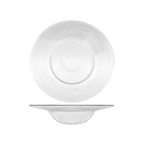 H & H 7634126 Glazen bord cirkel bodem Cm26 Arredo dek