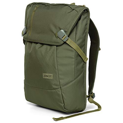 AEVOR Daypack - erweiterbarer Rucksack, ergonomisch, Laptopfach, wasserabweisend, Pine Green