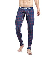 printed long underwear for men