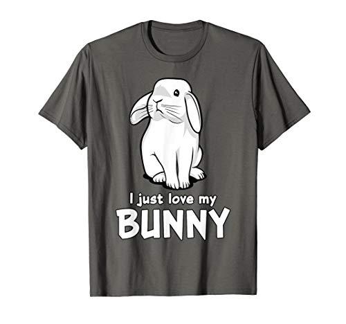 I Just Love My Bunny Cute Rabbit Funny Kids Girls Boys T-Shirt