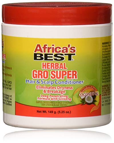 Africa's Best Herbal Gro Super Hair & Scalp Cond. 149