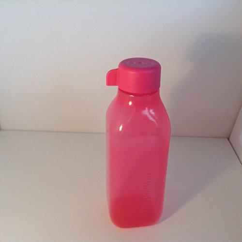 Tupperware EcoEasy Quader 500 ml rosa pink Trinkflasche Ökoflasche Eco Easy
