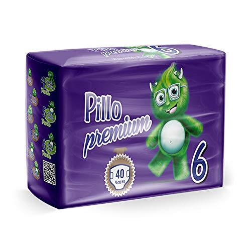PANNOLINI PILLO PREMIUM TAGLIA 6 extralarge 40 pannolini 16/30 kg