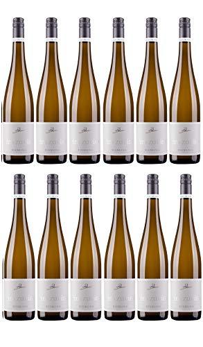 A. Diehl Riesling eins zu eins Kabinett Weißwein Wein trocken Deutschland (12 Flaschen)