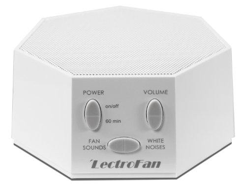 Lectrofan High Fidelity Noise Machine With 20 Unique Non-Looping Fan & White Noise Sounds & Sleep Timer, ffp