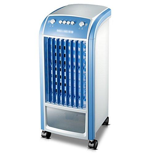 Lüfter ZR- Klimaanlage Fernbedienung Belüftung Befeuchter Kühler 3 Dateien einstellen Luftkühler Wohnzimmer Schlafzimmer Mobile Kühlkörper 65W Leicht zu bewegen