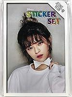 JEONGYEON ジョンヨン - TWICE トゥワイス グッズ / フォト ステッカー シール 87枚(16シート)セット - Photo Sticker 87pcs(16sheets) [TradePlace K-POP 韓国製]