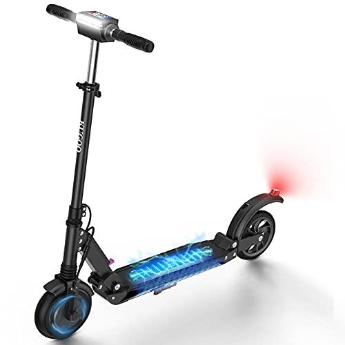 urbetter Patinete Eléctrico Adultos Scooter 30 km de autonomía Plegable Patinete Eléctrico E-Scooter Batería 350W, S1 (A Negro)