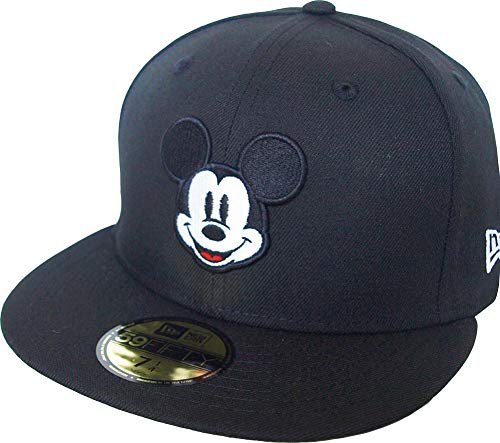 New Era Mickey Mouse Head Black 59fifty 5950 Fitted Cap Disney Kappe Limited Edition