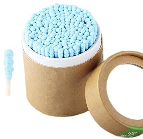 Cotons-tiges de sécurité 200 pièces Coton-tige à double pointe Bâtons de nettoyage polyvalents #12