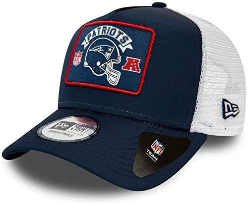 New Era England Patriots Frame Adjustable Trucker Cap NFL Wordmark