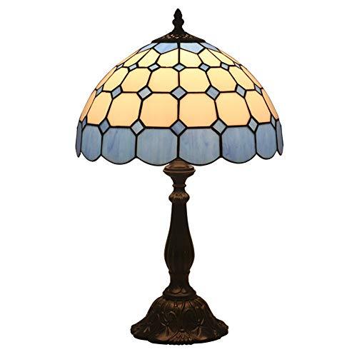 FYMDHB886 bureaulamp van gekleurd glas, klassiek met sterren, leeslamp, Tiffany-stijl, renovatieuitrusting