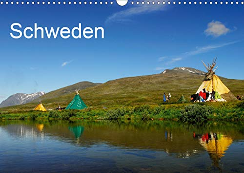 Schweden (Wandkalender 2021 DIN A3 quer)