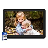 【Full Upgrade】Digital Photo Frame 10 Inch with 32GB SD Card NAPATEK Digital Picture