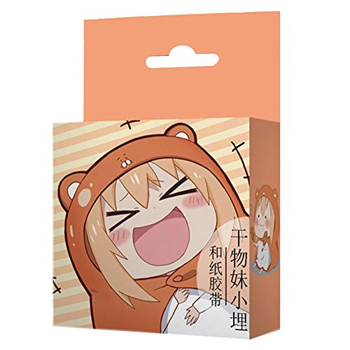 Saicowordist Demon Slayer Verschiedene Anime Und Papierband Cartoon Einfachheit Selbstklebende Siegel Aufkleber Bro Schulbedarf Heies Geschenk fr Fans(Himouto! Umaru-chan)