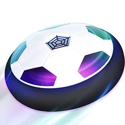 T.G.Y Air Power Fußball 2020 Aktualisiert der super Hover Ball mit LED Beleuchtung Kinder Haustier Jungen und Mädchen Indoor Outdoor Hover Ballspiel Kinder (Football) (Football)