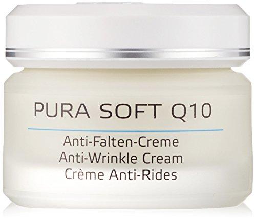 Annemarie Börlind Pura Soft Q10 Crema Antiarrugas 50ml, Negro, Estandar, 50