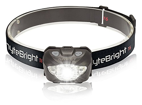 LED Flashlight Headlamp with Red Light - Brightest Headlight for Camping Hiking Running Hunting Walking - Waterproof Headlamps - Best Work Head Lamp Light with Free Energizer Batteries!