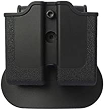 IMI Defense Double Mag Roto Magazine Pouch For 1911 Single Stack Variants, Sig Sauer 220, S&W 4506, 4516 Pistols