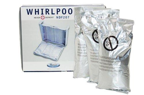 Whirlpool koelkast vriezer nooit zak ontdooien. Onderdeelnummer van de fabrikant: 481281719244