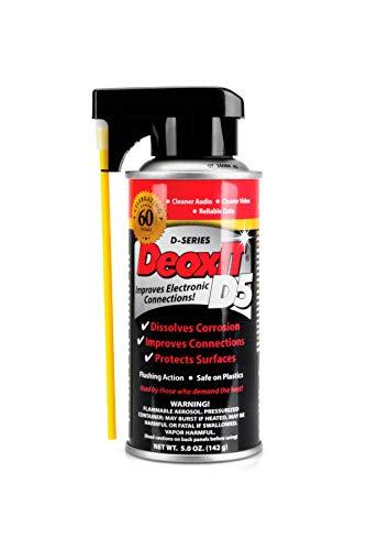 CAIG DeoxIT D5S6 Spray Contact Cleaner/Rejuvenator 5 oz