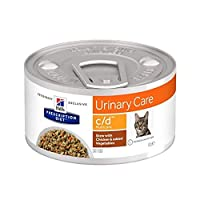 DIETETIC wet food in can for adult cats and a balanced complete food for lifelong feeding. For cats suffering with urinary tract illnesses or urinary stones, to support bladder health. ENRICHED with antioxidants, potassium citrate & omega-3. This wet...