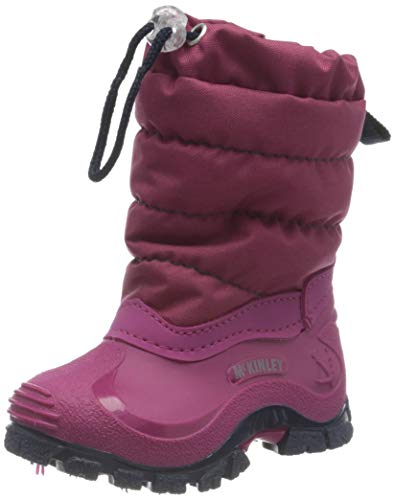 McKINLEY Unisex-Kinder Aprèsstiefel Jules Schneestiefel, Pink (Pink Dark/Navy 000), 29 EU
