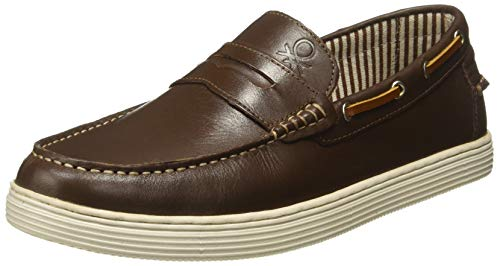 United Colors of Benetton Men's Brown Loafers - 6 UK/India (40 EU)(18A8MANU9226I)