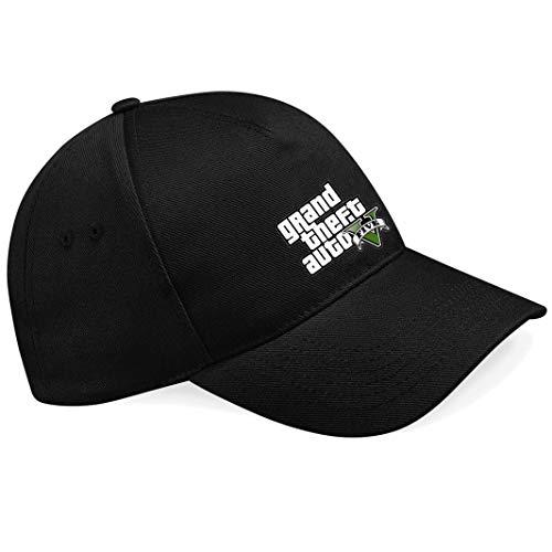 nnm GTA V GTA 5 Grand Theft Car 5 Rockstar Jogos Games Logo Logo Gorras de béisbol- K146.