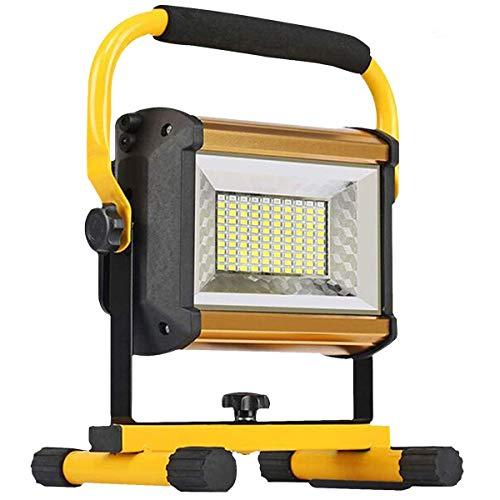 Preisvergleich Produktbild 8000LM 100W COB LED Baustrahler,  [100LEDs, 1000W Equivalent],  IP65 Wasserdicht Fluter mit Werkstattlampen Strahler Flutlicht Scheinwerfer Außenstrahler für Arbeiten,  Autoreparatur Camping Fischen