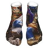 viata sock Sagrada Familia Navidad Natividad Religiosa Calcetines Altos Medias Tubo Suave Calcetines Novedad Crew Calcetines Atléticos Calcetines Largos Cómodos
