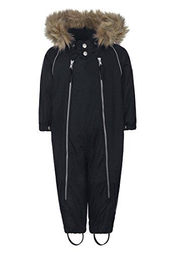 Ticket to Heaven Unisex Sportswear-Set Schneeanzug Baggie M. Abnehmbarer Kapuze, Blau (Total Eclipse 3000), 74