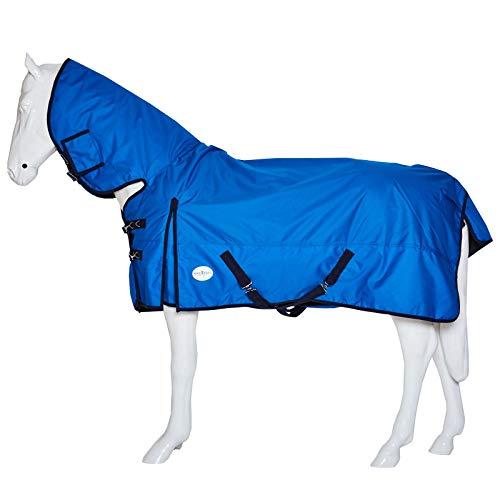 Best On Horse Boh Couverture imperméable à col rond 600 D 200 g
