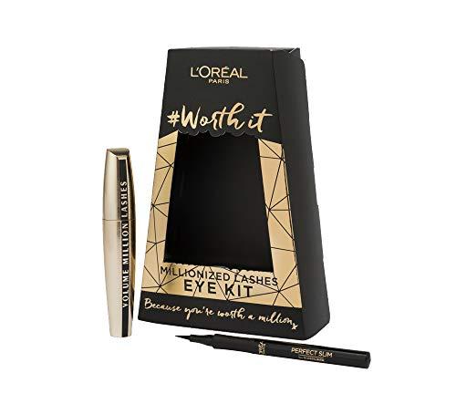 L 'Oreal Paris Midnight in Paris Mascara und Eyeliner Geschenk-Set für Ihre