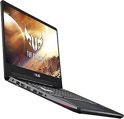 """Asus TUF FX505DT Gaming Laptop, 15.6"""" Full HD, AMD Ryzen 7 R7-3750H Processor, GeForce GTX 1650 Graphics, 8GB DDR4, 256GB PCIe SSD, Gigabit Wi-Fi 5, Windows 10 Home, FX505DT-WB72, RGB Keyboard"""