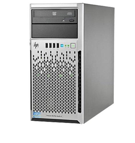 HP ProLiant ML310e Gen8 v2 - Servidor (3.1 GHz, Intel Xeon, E3-1220, 2000 GB, 1000 GB, SATA)