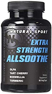 Natural Sport Extra Strength Allsoothe Supplement, 90 Count
