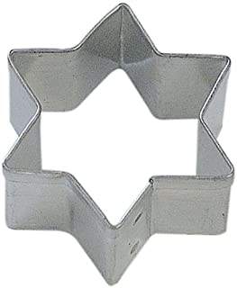 Miniature Hanukah Star Tin Cookie Cutter 4.4cm M1587