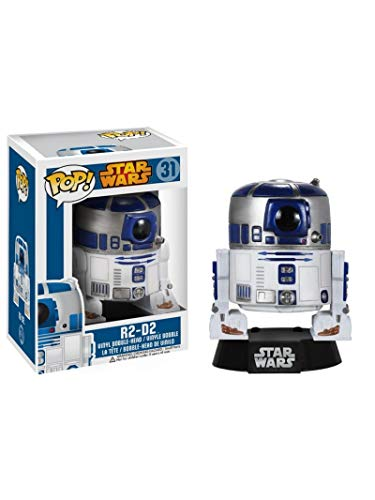 STAR WARS R2-D2 Vinyl Figure 31 Funko Pop! Estandar