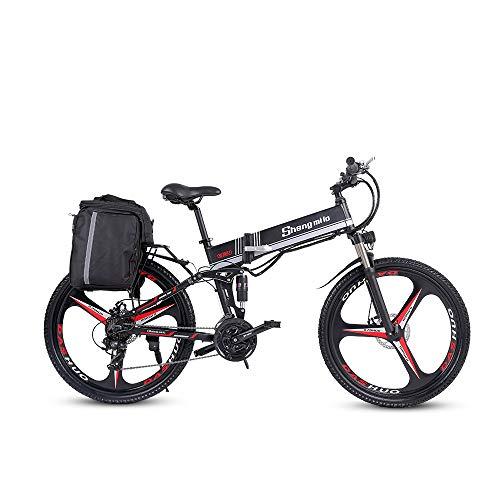 Shengmilo 250W Bici elettrica Mountain bike elettrica 26...