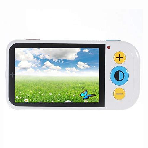 JL 4.3 Zoll Handheld Tragbar Video-Digitallupe 2X-32X Zoom 12 Farbmodi Elektronische Lesehilfe Unterstützt AV-Ausgang Zum Fernseher