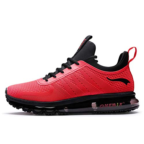 Mens Air Running Shoes Gym Jogging Tennis Walking Sneakers for Men Red 11 US 1191 HH 45