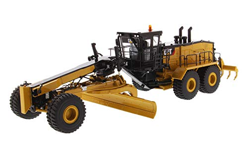 Diecast Masters 85552 CAT Caterpillar 24 Motor Grader with Operator High Line Series 1-50 Diecast Model