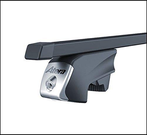Atera IDT 048437Träger der für Fahrzeuge mit Taste direkt Handlauf, Quadratisch, Fuß Rohr Profil: 32x 22mm 137cm lang